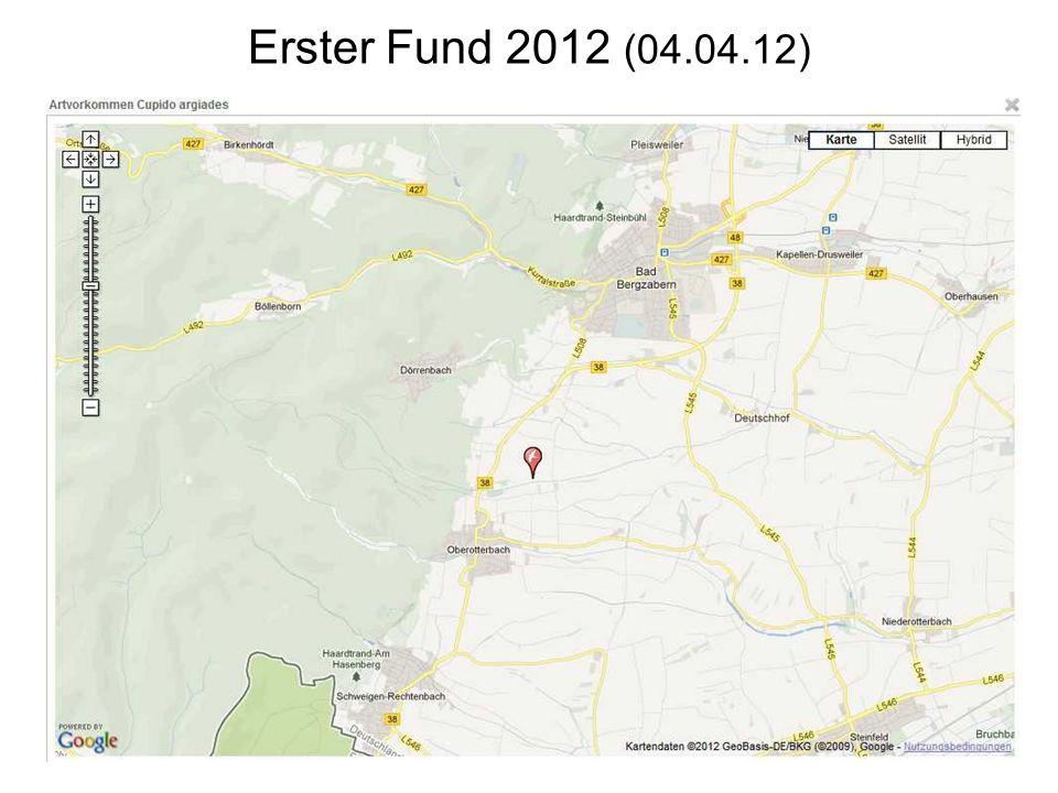 Erster Fund 2012 (04.04.12)
