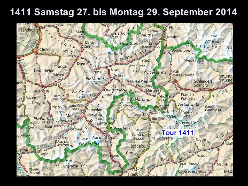 1411 Samstag 27. bis Montag 29. September 2014