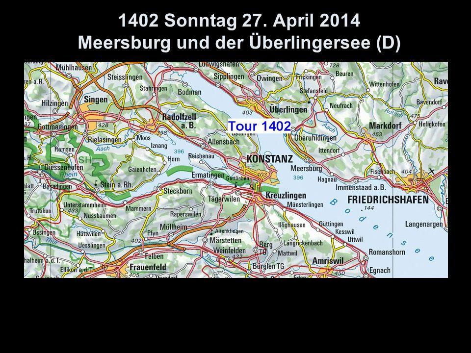 1402 Sonntag 27. April 2014 Meersburg und der Überlingersee (D)