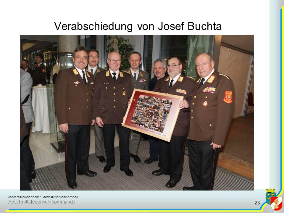 Niederösterreichischer Landesfeuerwehrverband Abschnittsfeuerwehrkommando Verabschiedung von Josef Buchta 23
