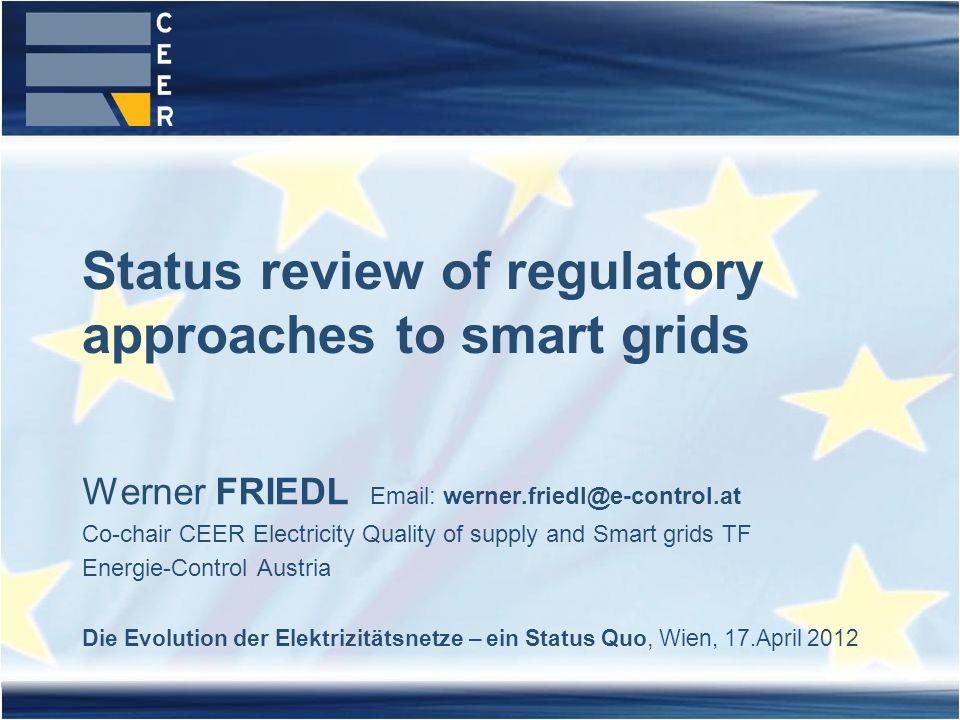 22Die Evolution der Elektrizitätsnetze – ein Status Quo, Wien, 17.