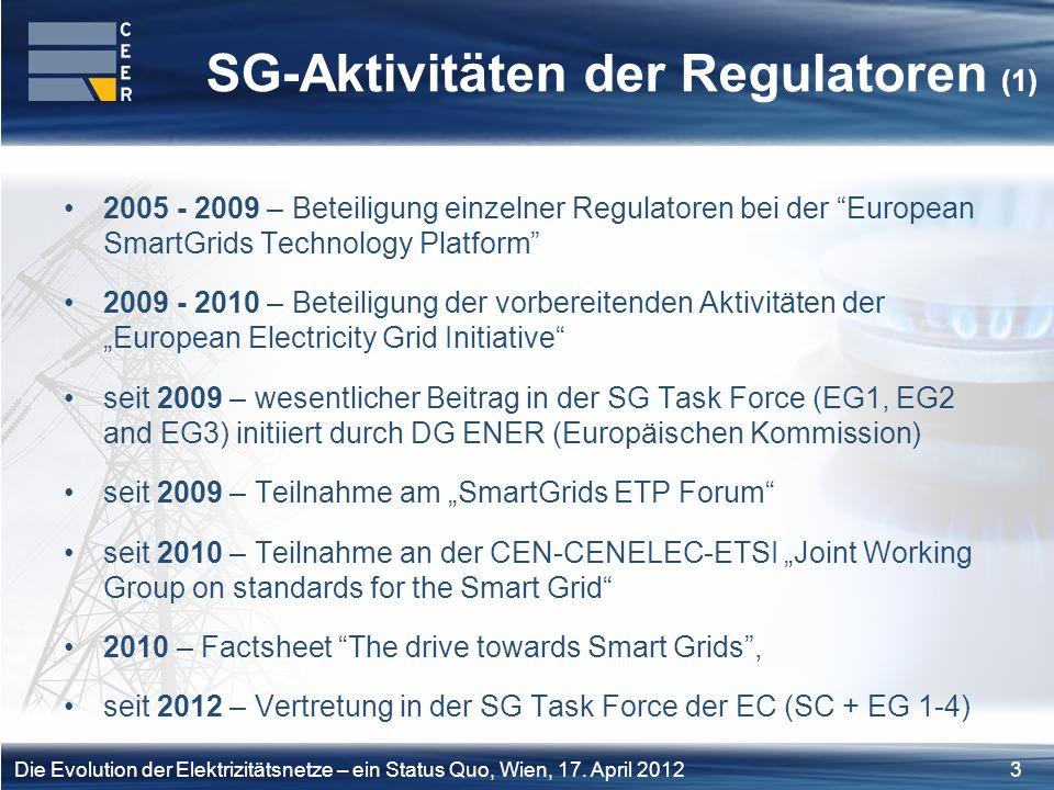 24Die Evolution der Elektrizitätsnetze – ein Status Quo, Wien, 17.