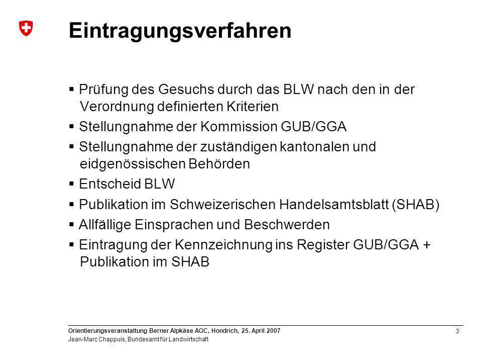 3 Orientierungsveranstaltung Berner Alpkäse AOC, Hondrich, 25.