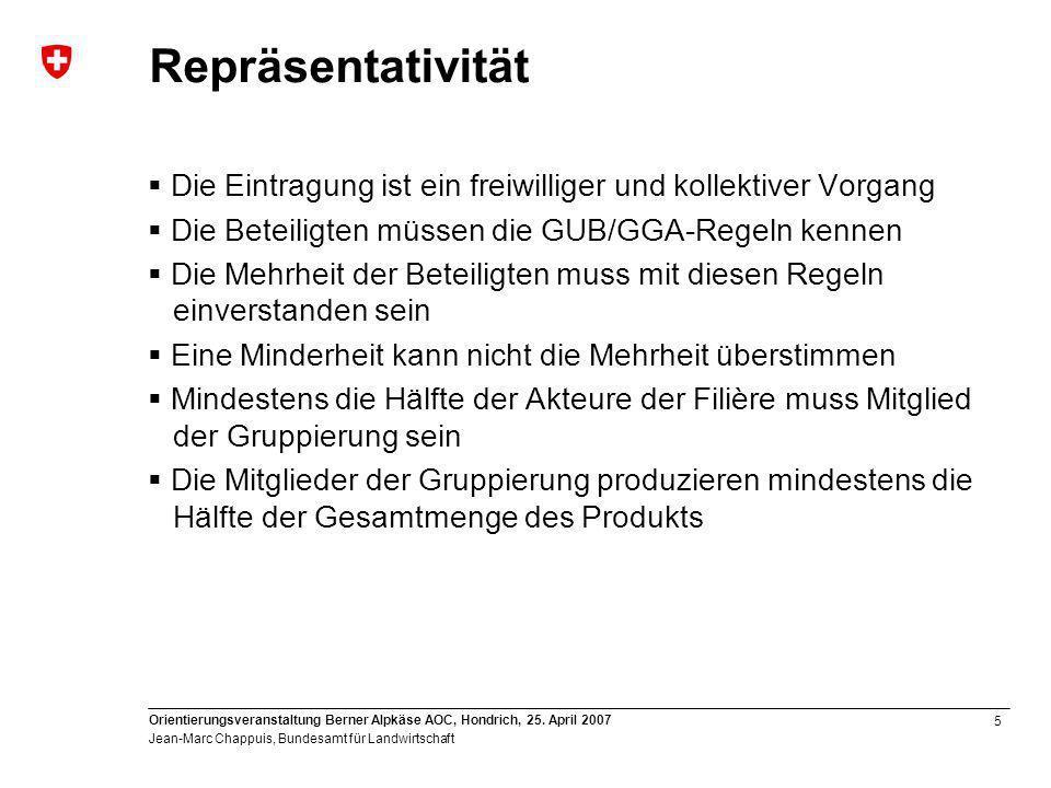 5 Orientierungsveranstaltung Berner Alpkäse AOC, Hondrich, 25.