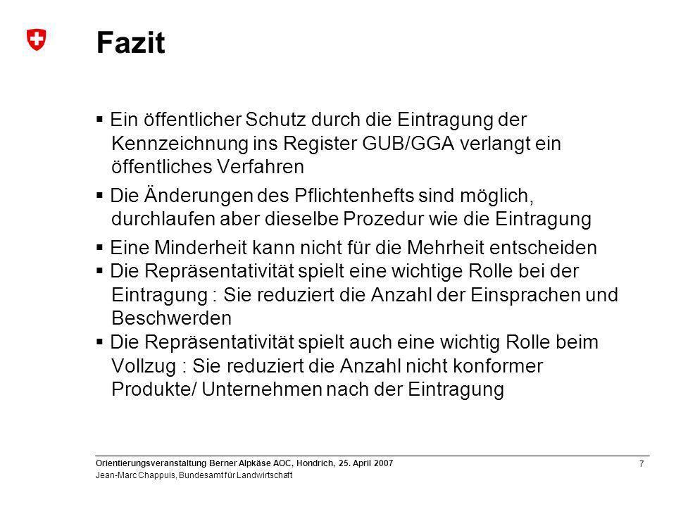 7 Orientierungsveranstaltung Berner Alpkäse AOC, Hondrich, 25.