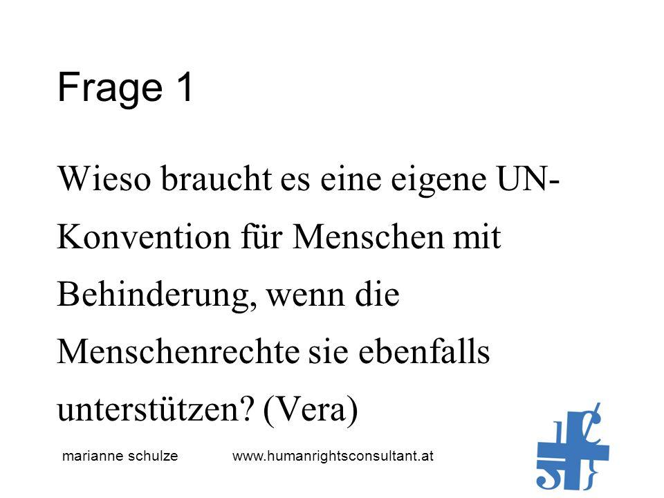 marianne schulze www.humanrightsconsultant.at Frage 2 Vertragsunterzeichnung und Umsetzung, wie lange dauert dies durchschnittlich.