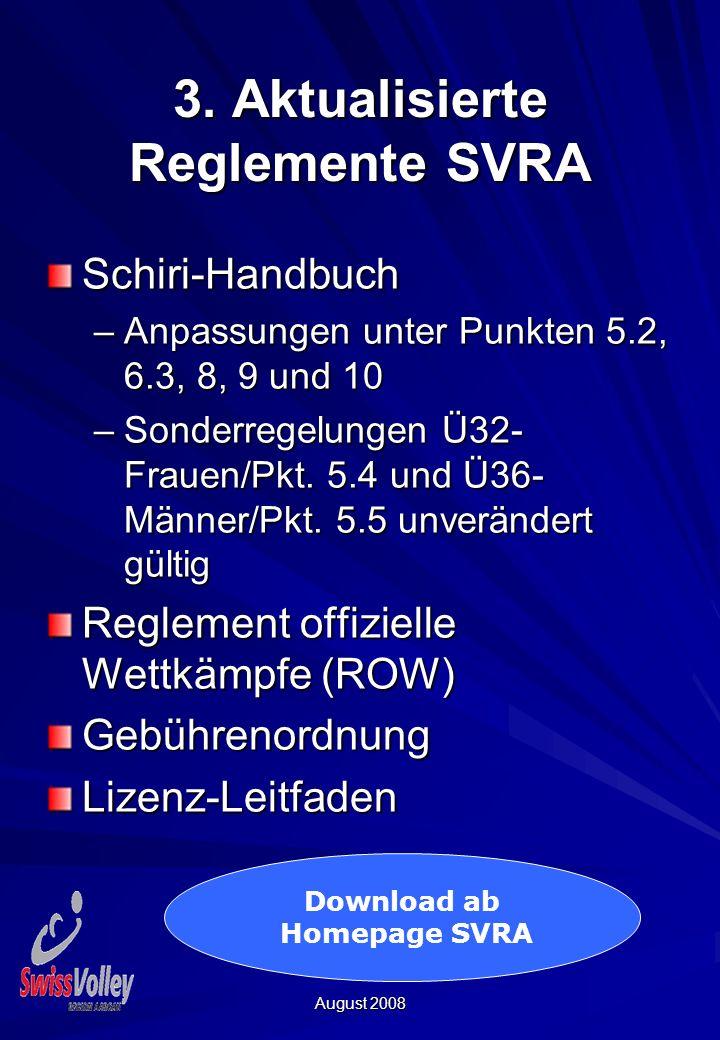 August 2008 4. Spielprotokoll Regionalliga