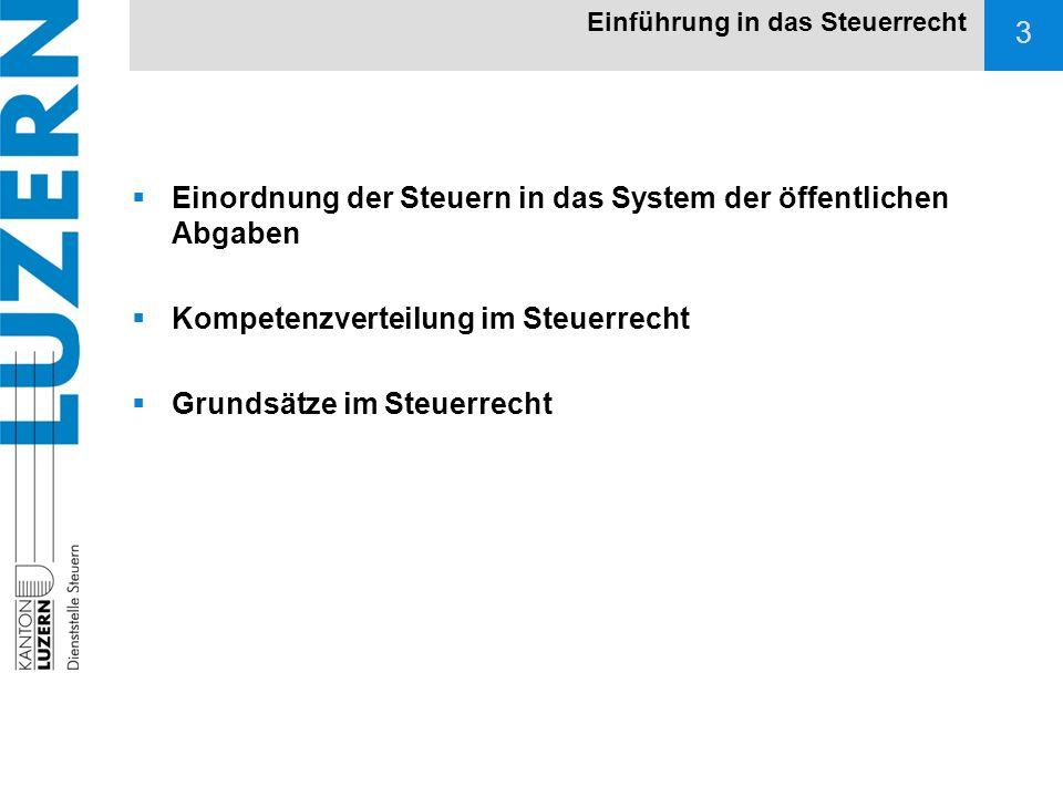 14 StHG Steuerharmonisierung der direkten Steuern der Kantone und Gemeinden Art.
