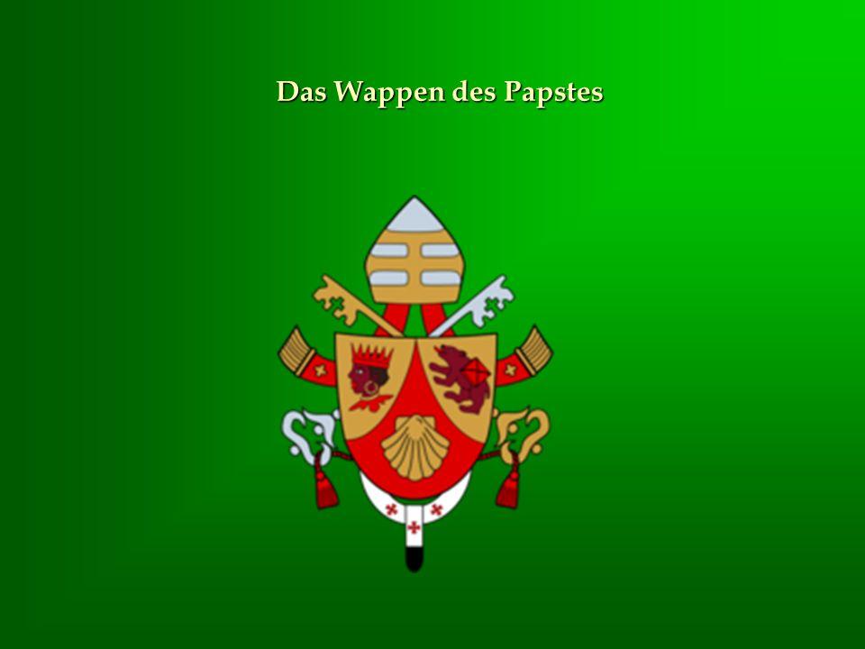 Das Wappen des Papstes