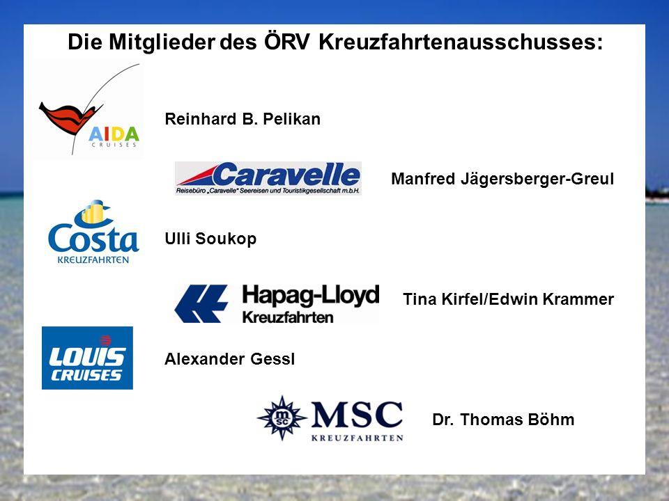 14 Die Mitglieder des ÖRV Kreuzfahrtenausschusses: Reinhard B.
