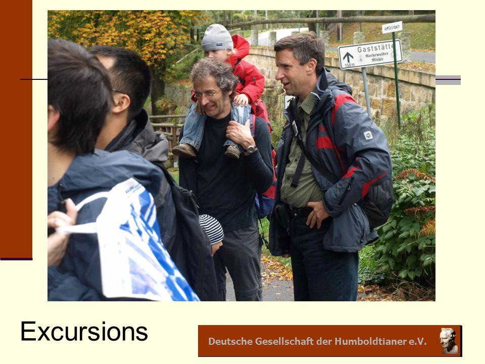 Deutsche Gesellschaft der Humboldtianer e.V. Excursions