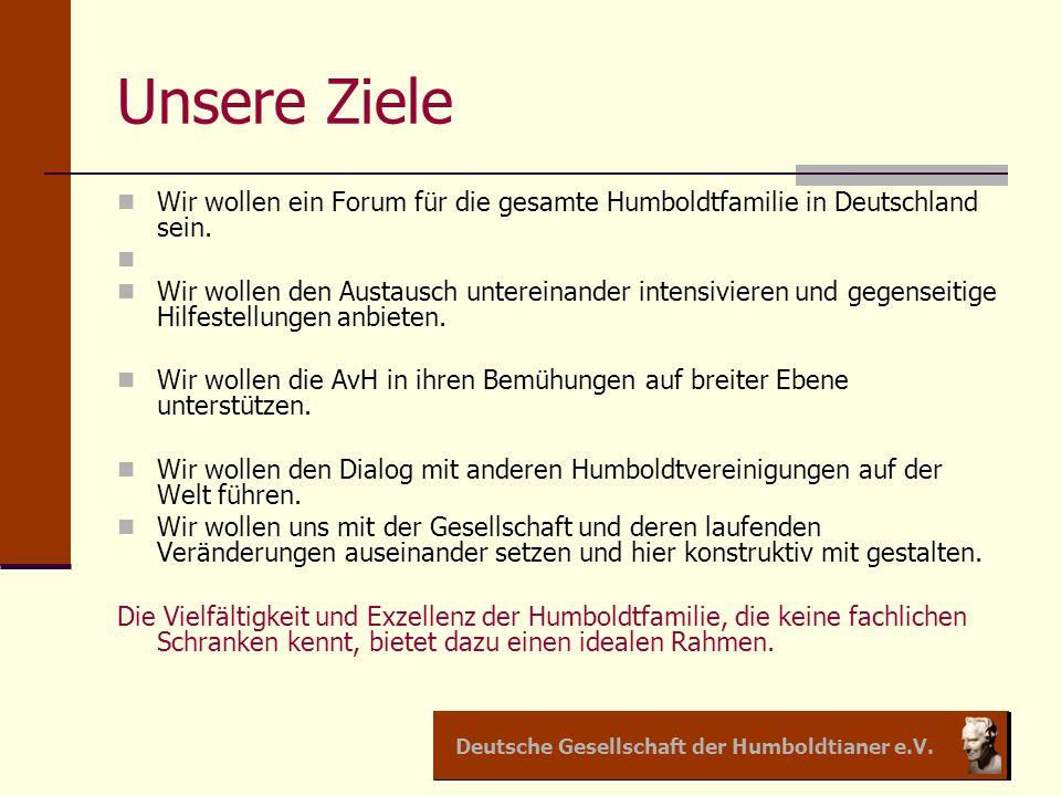 Deutsche Gesellschaft der Humboldtianer e.V.