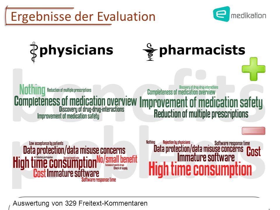 Univ.-Prof. Dr. Elske Ammenwerth Institute of Health Informatics, UMIT 16 Ergebnisse der Evaluation Auswertung von 329 Freitext-Kommentaren