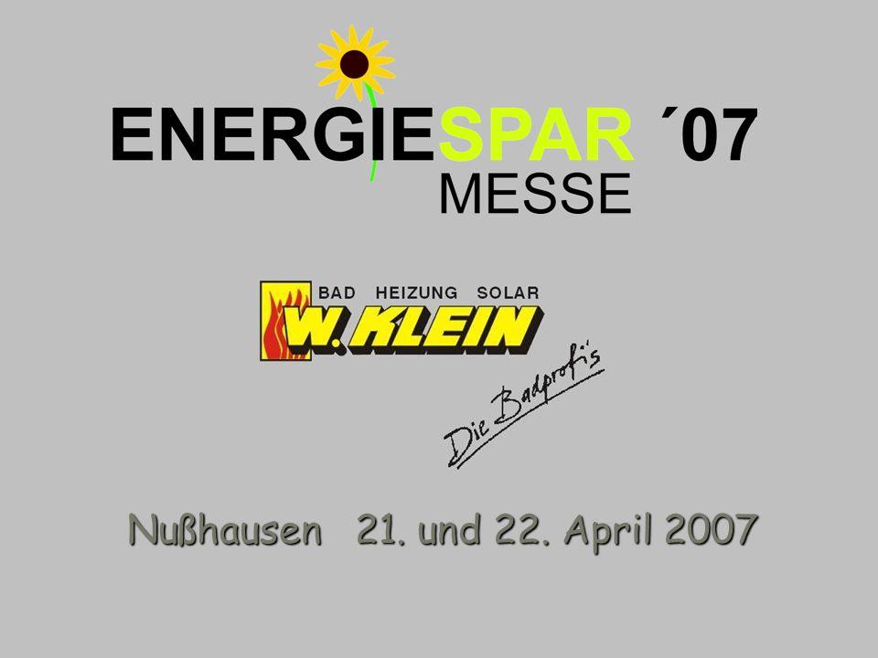 Nußhausen 21. und 22. April 2007