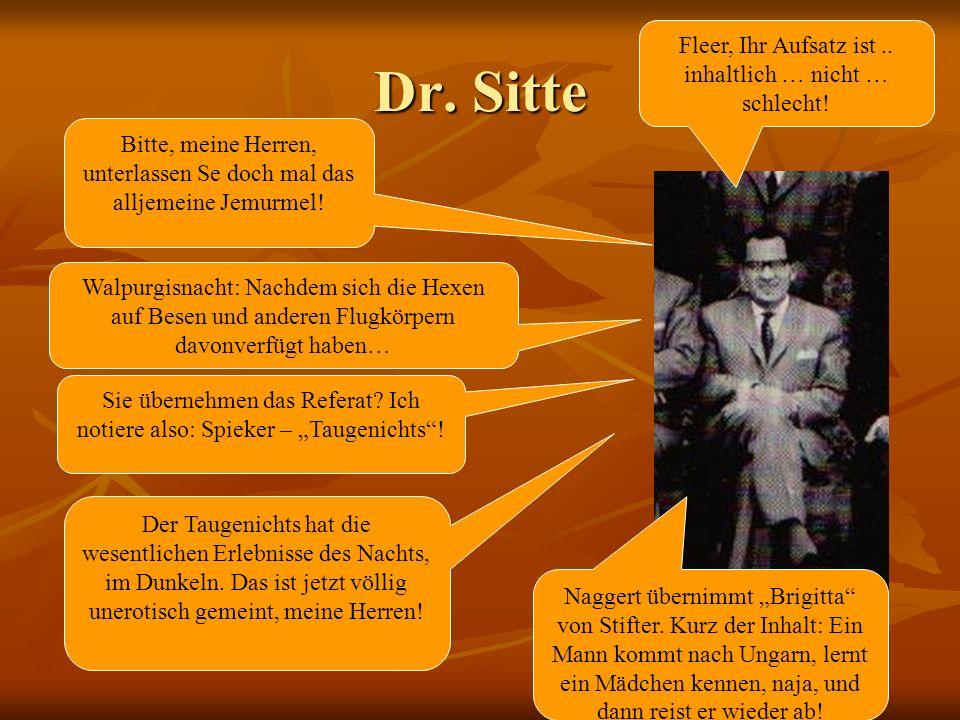 Dr.Sitte Fleer, Ihr Aufsatz ist.. inhaltlich … nicht … schlecht.