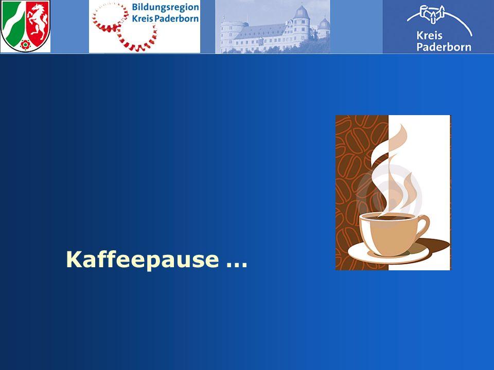 Kaffeepause …