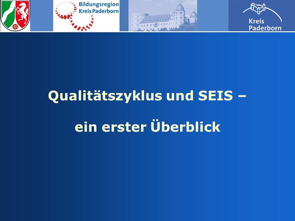 Qualitätszyklus und SEIS – ein erster Überblick