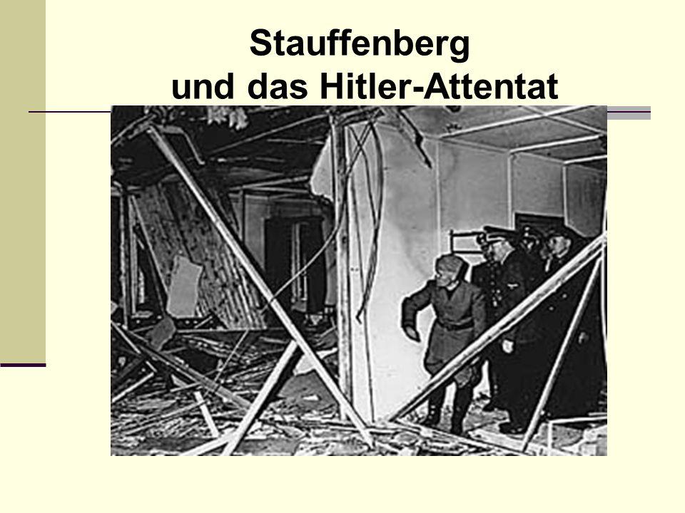 Der Zwanzigste Juli 1944 22.30 Uhr: Eine Gruppe regierungstreuer Offiziere verhaftet Stauffenberg und die Mitverschwörer.