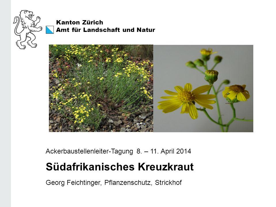 Kanton Zürich Amt für Landschaft und Natur Ackerbaustellenleiter-Tagung 8.