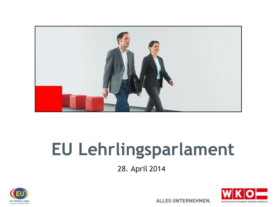 EU Lehrlingsparlament Die Idee.Die Europawahl 2014 findet am 25.
