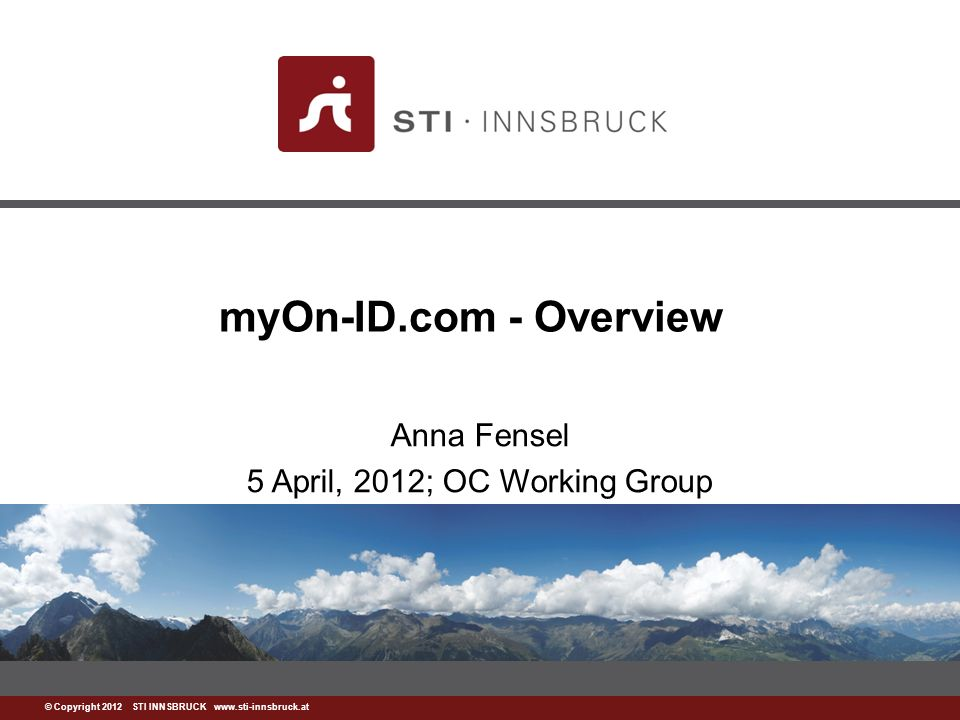 www.sti-innsbruck.at Outline Motivation Products –My Online Identity –Secure.me – Facebook app About the company 2