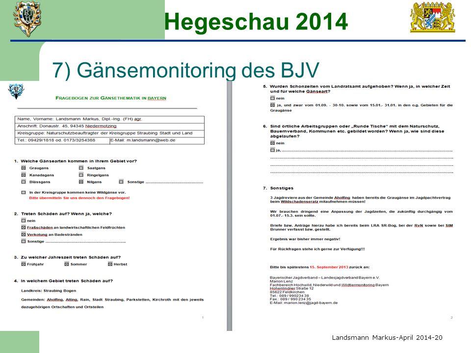 Hegeschau 2014 7) Gänsemonitoring des BJV Landsmann Markus-April 2014-20