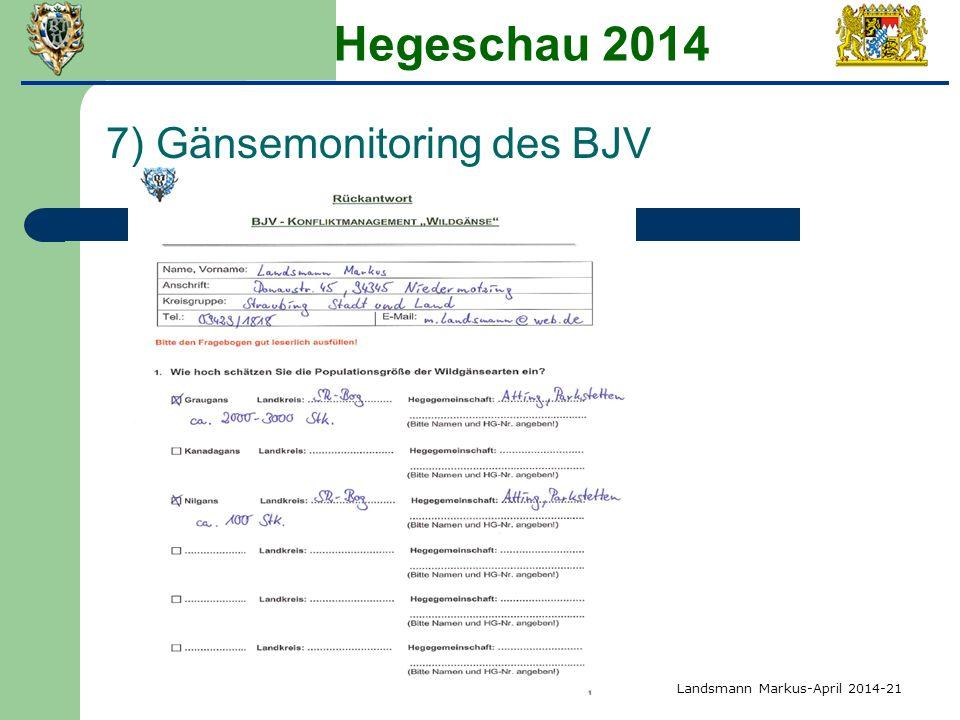Hegeschau 2014 7) Gänsemonitoring des BJV Landsmann Markus-April 2014-21