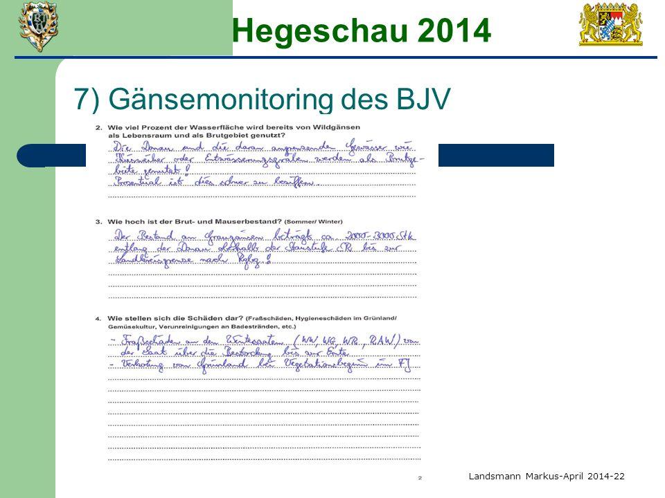 Hegeschau 2014 7) Gänsemonitoring des BJV Landsmann Markus-April 2014-22