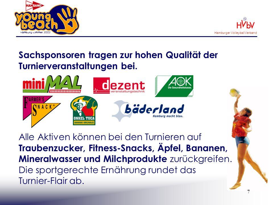 Hamburger Volleyball Verband 8 Medienpartner garantieren eine hohe Sichtbarkeit über den gesamten Aktionszeitraum.