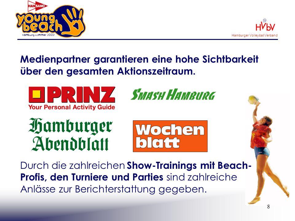 Hamburger Volleyball Verband 9 Sportorganisationen ermöglichen das flächendeckende Trainingsangebot.