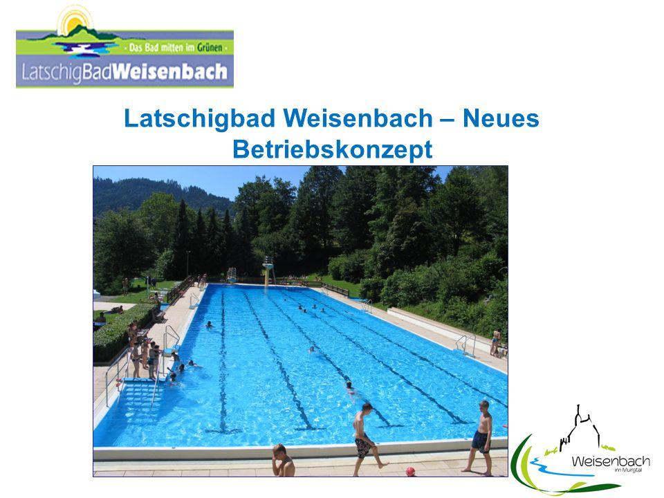 Zwischenergebnis AG Zukunft Latschigbad 1.Das Defizit des Latschigbades mit rund 100.000 Euro (ohne kalkulatorische Kosten) bewegt sich für ein Schwimmbad dieser Größenordnung im üblichen Rahmen.