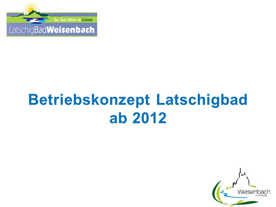 1.Aufteilung des Betriebes zwischen Gemeinde (öffentliche Badezeit) Verein (Badezeit für Vereinsmitglieder) Überlassungsvertrag mit Verein