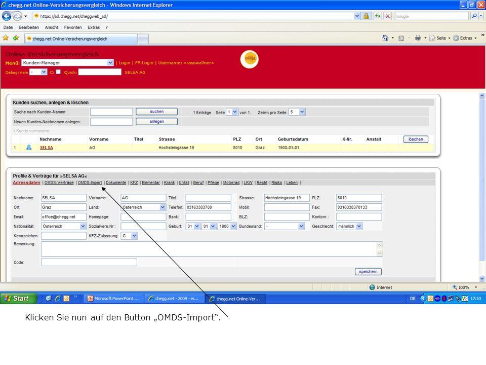 ….und somit wurden alle neuen Datensätze in wenigen Sekunden in den Kundenmanager übertragen.