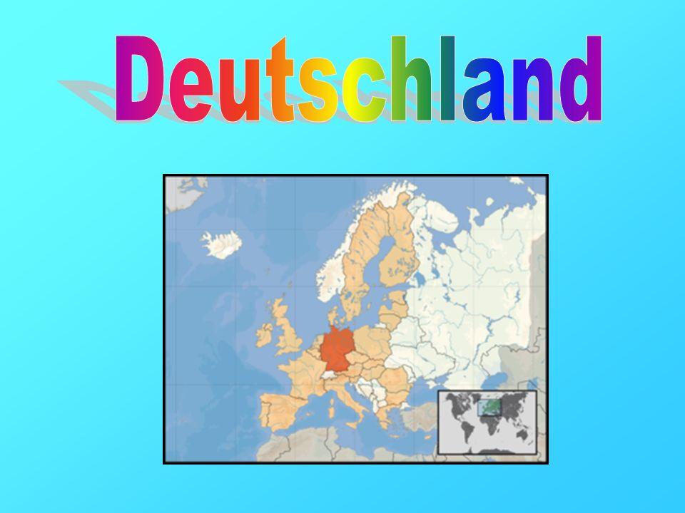 Deutschland ist ein in Mitteleuropa gelegener Bundesstaat, der aus den 16 deutschen Ländern gebildet wird.