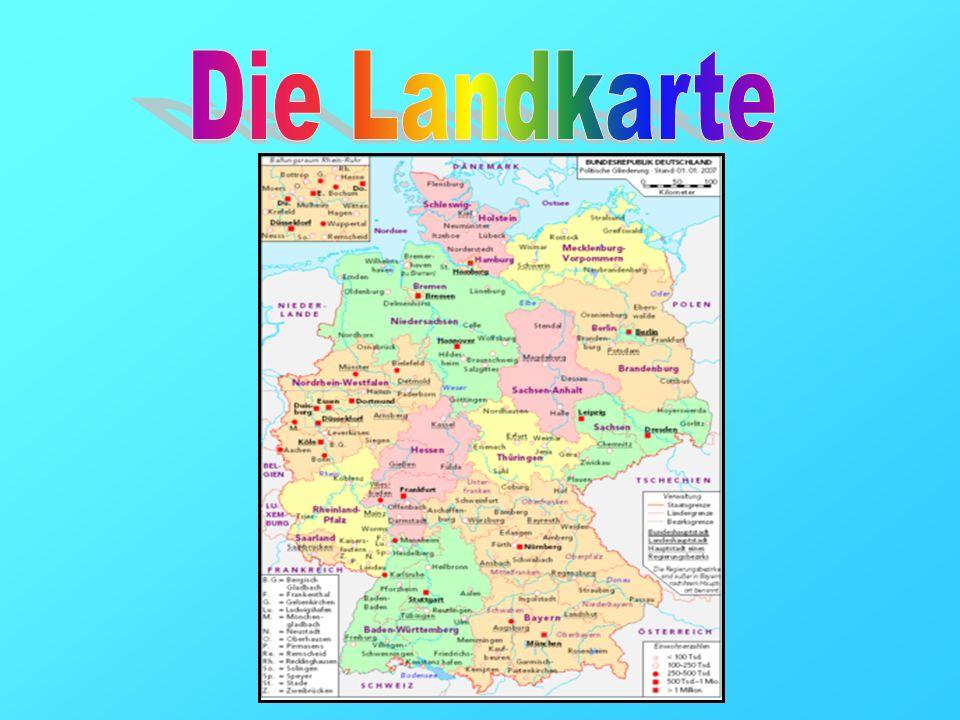 Deutschland hat insgesamt neun Nachbarstaaten: Dänemark, Polen, Tschechien, Österreich, die Schweiz, Frankreich, Luxemburg, Belgien und die Niederlande.