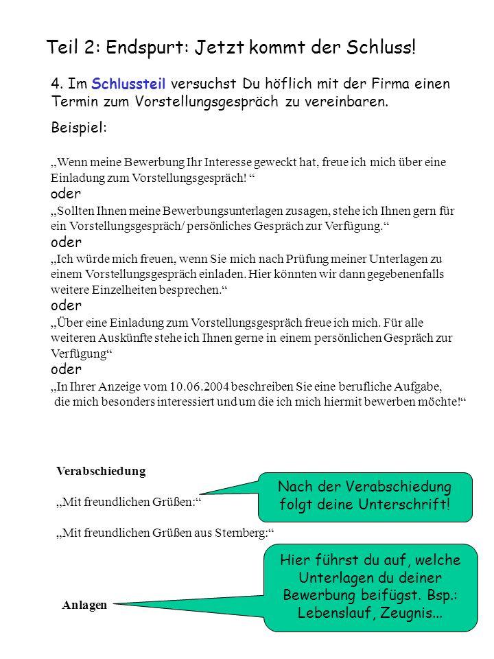 Teil 3: Musterbewerbung: So kann sie aussehen: Rudolf Rotnase Musterstr.