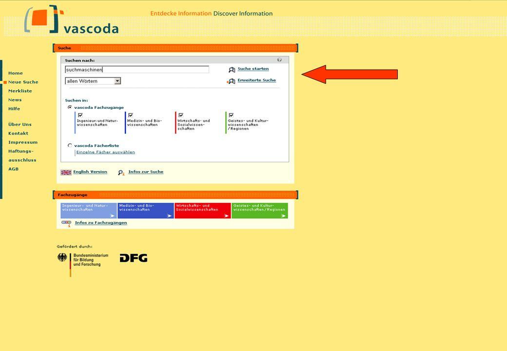 Christine Burblies ASpB September 2005 Suche nach Suchmaschinen