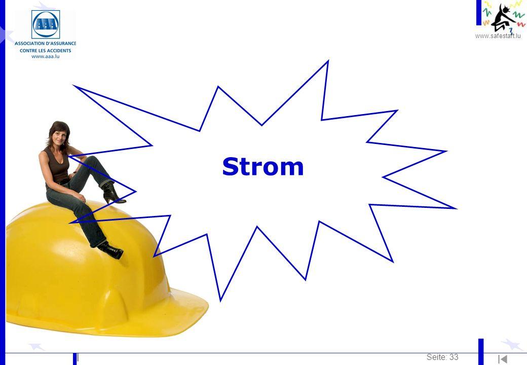 www.safestart.lu Seite: 33 Strom