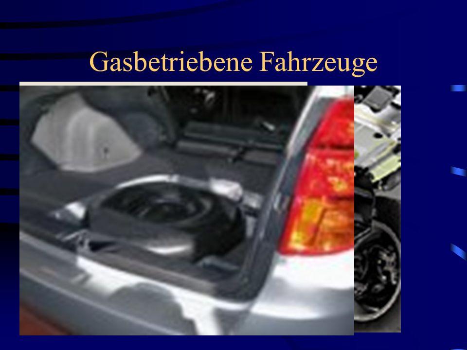 Gasbetriebene Fahrzeuge