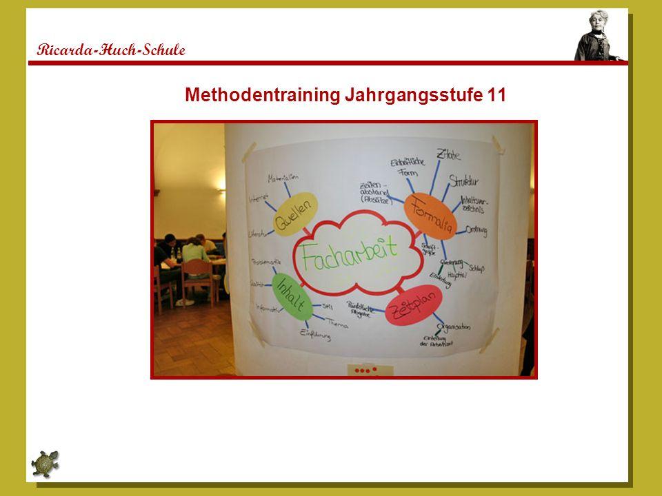 Ricarda-Huch-Schule Methodentraining Jahrgangsstufe 11