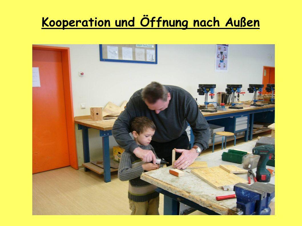 Zusammenarbeit mit den Eltern Elternarbeit Kooperation und Öffnung nach Außen
