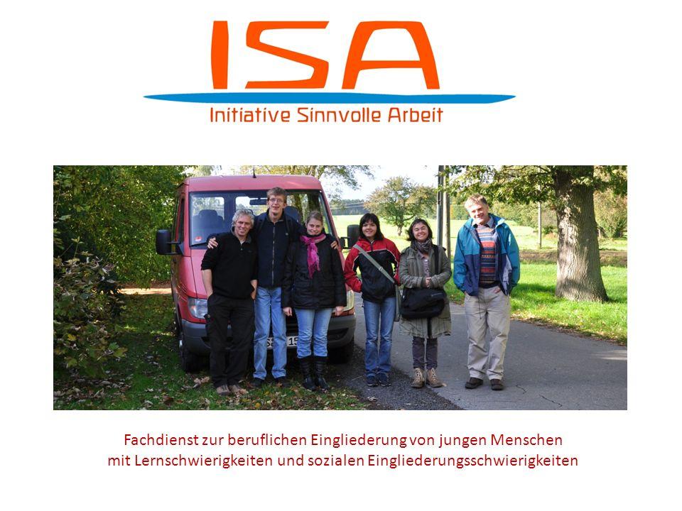 Fachdienst zur beruflichen Eingliederung von jungen Menschen mit Lernschwierigkeiten und sozialen Eingliederungsschwierigkeiten