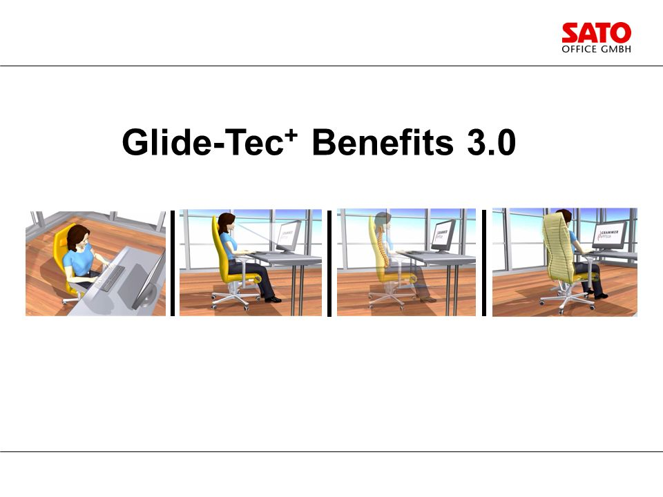 Die überlegene Technik von GLIDE-TEC + und ihr Nutzen. Glide-Tec + Benefits 3.0