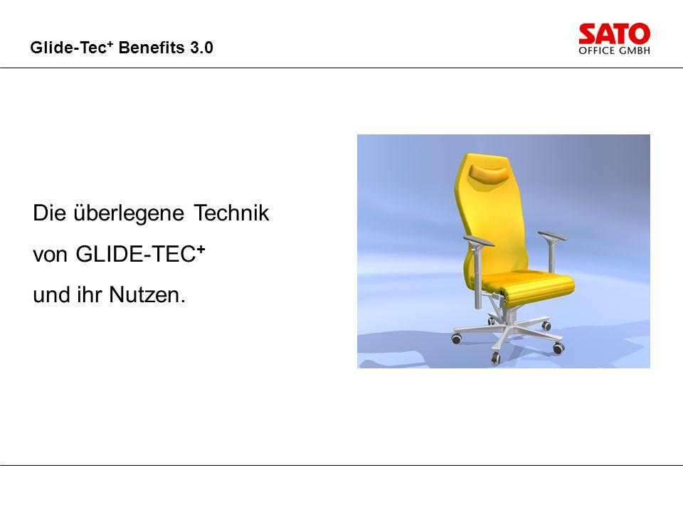 Besser handhaben Einfacher Bedienkomfort - nur Sitzhöhe und Sitztiefe.