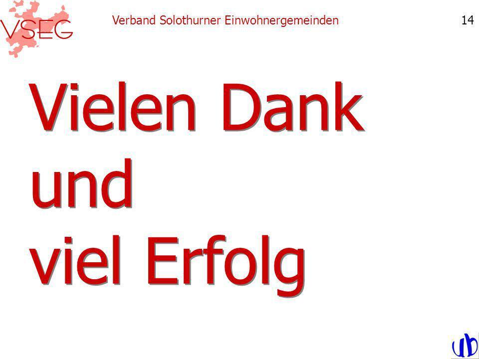 Vielen Dank und viel Erfolg Verband Solothurner Einwohnergemeinden14
