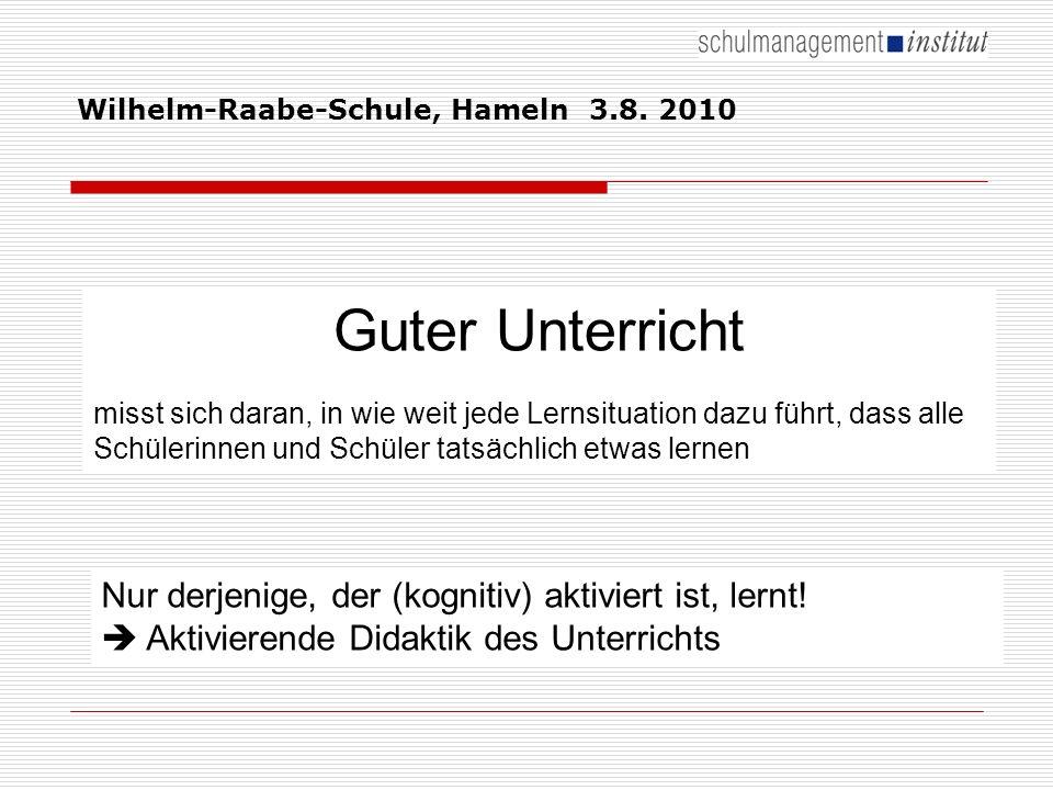 Wilhelm-Raabe-Schule, Hameln 3.8.