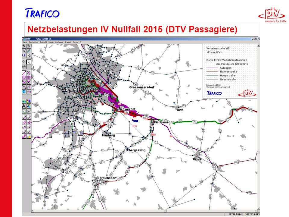 Folie 30 Netzbelastungen IV Nullfall 2015 (DTV Passagiere)
