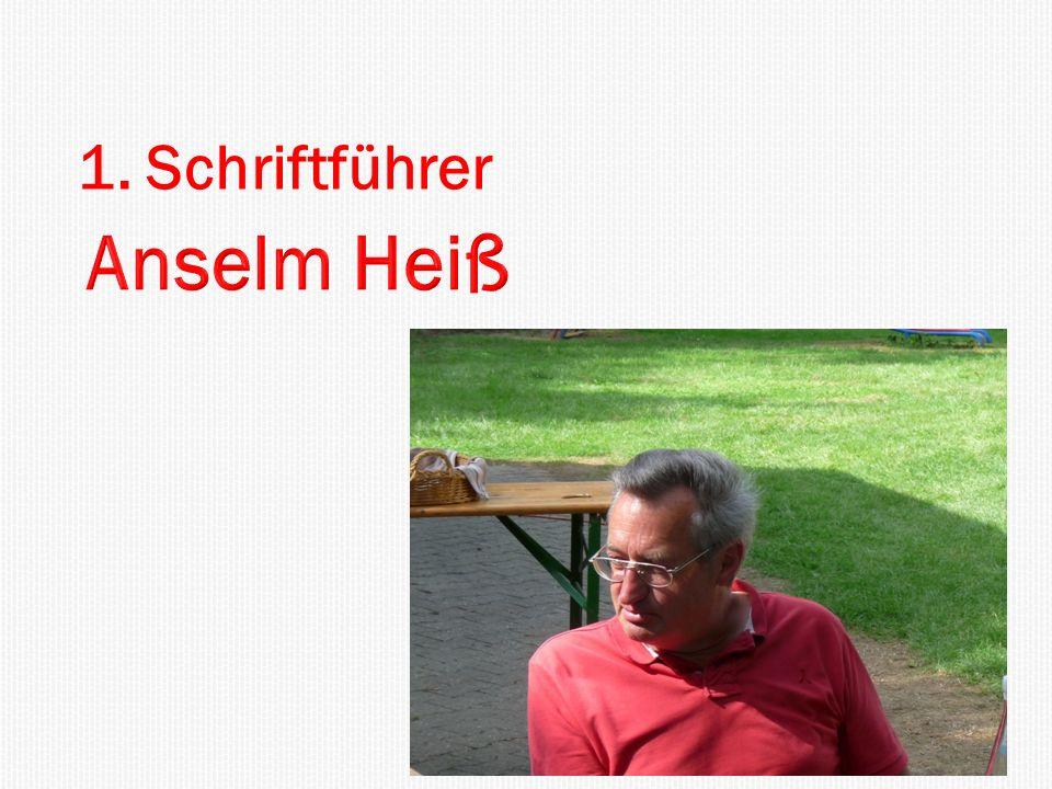 1. Schriftführer