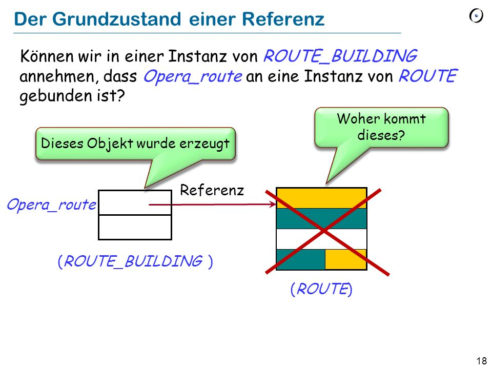 18 Opera_route (ROUTE) Referenz (ROUTE_BUILDING ) Woher kommt dieses.