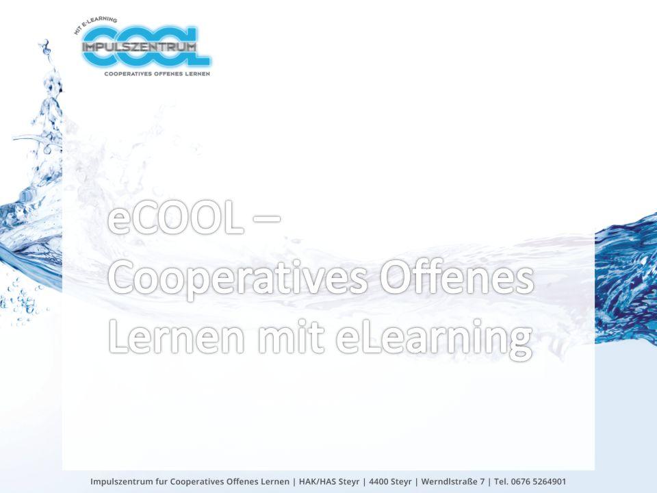 COOL-Individualisierung räumlich: Schularchitektur, Netbooks zeitlich: Stundenplan, Cool-Stunden inhaltlich: Differenzierung bei Arbeitsaufträgen | Individualisierung